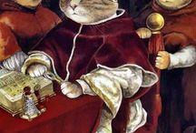 Animals portraits - Anthropomorphic / Peinture