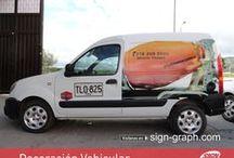 Branding Vehicular / La aplicación de rótulos adhesivos impresos sobre vehículos es una de las opciones de publicidad más asequible teniendo en cuenta el tiempo que va a durar y el número de personas que ven esta publicidad.  Brandeo en impresión digital a base de tintas solventes, y latex con laminados UV ideales para la rotulación vehicular.  Póngase en contacto con nuestros expertos en Branding Vehicular en Sign Graph Ltda, y empiece hoy mismo a tomar ventaja en el reconocimiento de su marca.