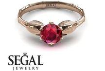 Bamboo engagement ring / Engagement ring in bamboo style #engagement #rings #vintage #bamboo #vintageengagmentring #vintagering #wedding #diamond