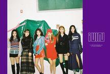 (G)I-DLE / Fandom name: — Fandom color: -- Debut: 2.05.2018 Label: CUBE Ent. Members: 1) Cho Miyeon 2) Minnie Nicha Yontararak 3) Seo Soojin 4) Jeon Soyeon (leader) 5) Song YuQi 6) Ye Shuhua (maknae)