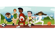 Olympic Google Doodles / During the world's biggest sporting extravaganza - London 2012 Olympics - Google posted 17 Olympic doodles. Out of 17, 4 doodles were interactive, while 13 were static (non-interactive). Here is a list of doodles posted by Google during the London 2012 Olympics.