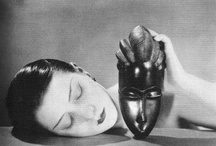 "MAN RAY / ""There is no progress in art, any more than there is progress in making love. There are simply different ways of doing it."" Man Ray / by a lady with a cat"