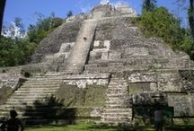 Belize Maya Ruins / The Maya ruins of Belize include a number of well-known and historically important pre-Columbian Mayan archaeological sites - Caracol , Ceros  & Lamanai / by ChichenItza Bob