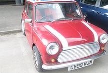 Red Classic Mini Union Jack Roof / by David Manners Group