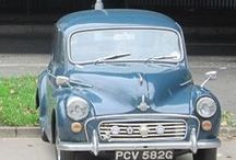 Morris Minor Double Vision / 2 Blue Morris Minor Cars at the David Manners Group http://www.jagspares.co.uk/Morris/company.asp / by David Manners Group