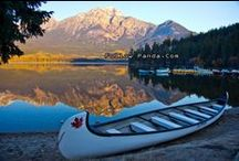 Jasper National Park / Scenery and tourist attractions in Jasper National Park, Alberta, Canada