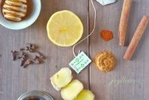 Cold and Flu Remedies / Battle against colds and the flu with these delicious recipes for natural home remedies.