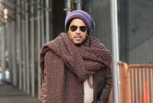 Scarf Style Icons / Stars, they're just like us... they wear scarves!