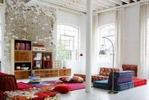 Loft / loft, architecture, design, colour, furniture, ideas, home