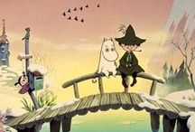 Mumins / Mumins, moomins, kids, fairy-tail, books