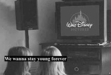 Disney / Your N e v e r  2 young  For   D i s n e y