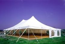 Our Pole tent. / Wanting an alternative to the Clear span marquee?
