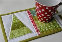 cucire sottotazza / sottotazza handmade