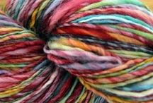Yearn for Yarn / Hand spun, hand dyed or otherwise, but all lovable.