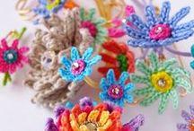 uncinetto FIORI / fiori all'uncinetto