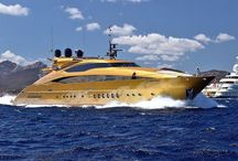 Yachts / The Beauty of luxery Yachts