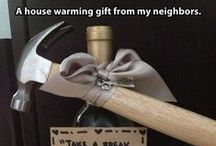 Housewarming Gifts / Congratulate the new home owner with a personalized gift for the occassion