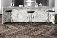 Herringbone Flooring / Because we LOVE herringbone and it's been in the background for far too long. Get diagonal people! We have Herringbone flooring available for $4.49/sf