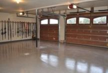 Ultimate Garage / Find tips, hacks, and other clever ideas for the garage in your life. Organization, storage, surfaces, flooring, electronics, etc.