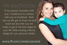Fitness Motivation. Healthy Recipes. Workouts. Infographics. / https://www.facebook.com/renee.cascone