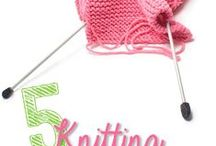 Knit, embroidered  and crochet favorites / love these!