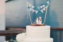Beeldige bruidstaarten