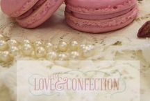 Macarons by With Love & Confection / Located in Easley, SC, With Love & Confection is Easley's Premier Macaronier! All macarons created by Veronica Arthur.