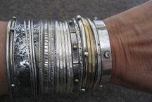 I Love Silver Bangles