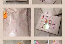 Gift wrapping ideas / Pretty