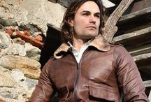 Lost In Albion Art BARIG / Lost In Albion Art BARIG Shearling + Leather Jacket