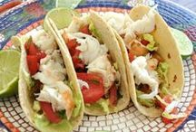 Totally TACOS / Tacos are amazing and you can change them up with filling - from seafood, beef, chicken, pork, vegetarian - to shells.  Yum!