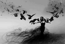 Raven and Dark angel