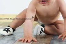 Chaussons en cuir souple / Nos chaussons en cuir souple portés et approuvés par ces bébés !