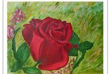 My Acrylic painting / akril festmények
