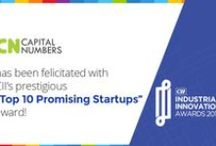"""Capital Numbers - Top 10 Promising Startups / Capital Numbers has been felicitated with CII India's prestigious """"Top 10 Promising Startups"""" award at the Innovation & Entrepreneurship Summit. Read more here: bit.ly/CIIawards-CN-Top10"""