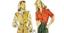 Casual Clothing / This is a selection of classic models from 1924 to 1967.