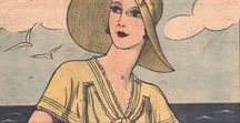 2: 1930-1937 / This is the second section of CLASSIC STYLE OF WOMEN'S CLOTHING (1924-1967).