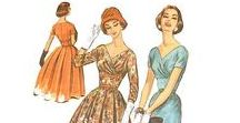 4: 1947-1957 / This is the fourth section of CLASSIC STYLE OF WOMEN'S CLOTHING (1924-1967).