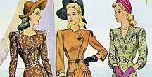 3: 1937-1947 / This is the third section of CLASSIC STYLE OF WOMEN'S CLOTHING (1924-1967).
