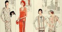 1: 1924-1930 / This is the first section of CLASSIC STYLE OF WOMEN'S CLOTHING (1924-1967).