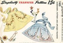 Vintage Apron Patterns / by Anonymous One