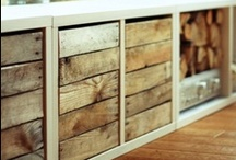 Pallets / The array of furniture that can be created from old pallets is never ending. And they are simple and easy to work with.