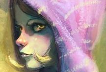 fantasy women / by Alicia Hawks Rodriguez