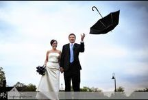 Rain...what rain? / Rain will not ruin your wedding day...I promise...I swear. Check out the beautiful photos that can be captured in the rain.