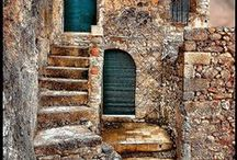 Stairs. Schody