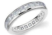 Platinum & Diamonds / Princess and Baguette Diamonds