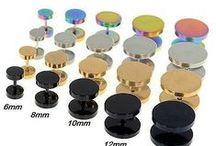 http://amalfiaccessories.gr/piercings-mpares/# / σκουλαρίκια για τον αφαλό, μπάρες και τάπες ,σκουλαρίκια για piercing stretching labret