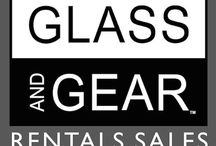 Glass And Gear / Photographic / Entertainment Equipment Rentals, Studio Services and Expendable Supplies.
