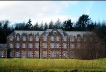 Bangour / Abandoned psychiatric hospital in Scotland.