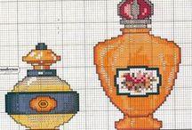 cross stitch - perfume